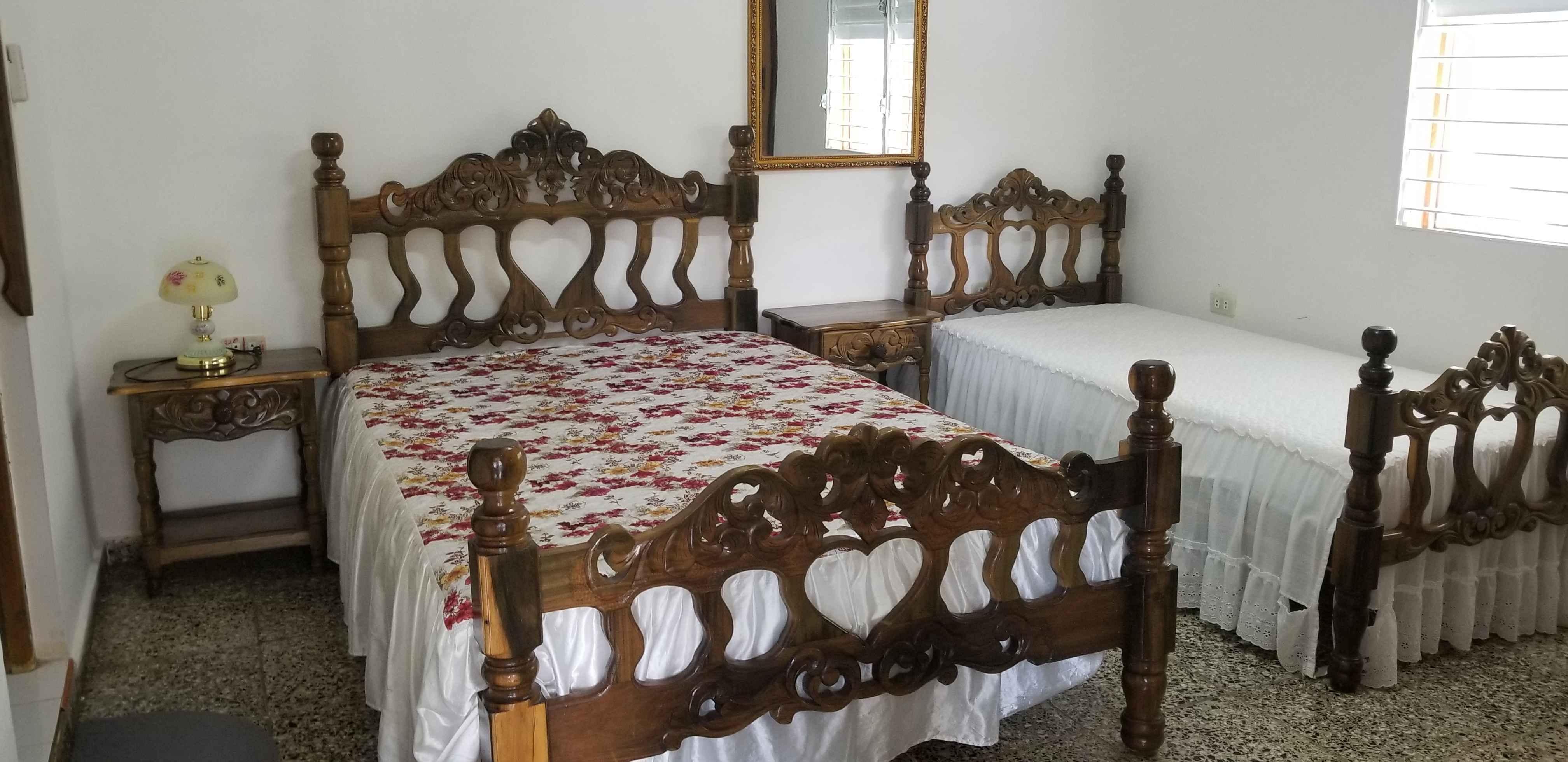 SOR004 – Room 3 Triple bedroom with private bathroom