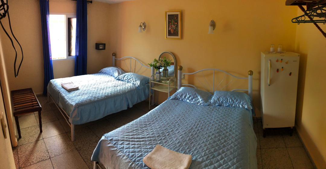 TRN005 - Room 1 Quadruple room with private bathroom