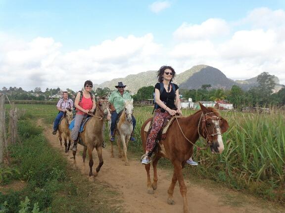Viñales - Horse riding